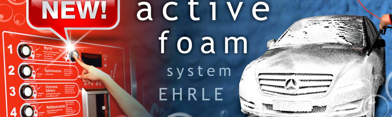 NEW! Active foam system EHRLE